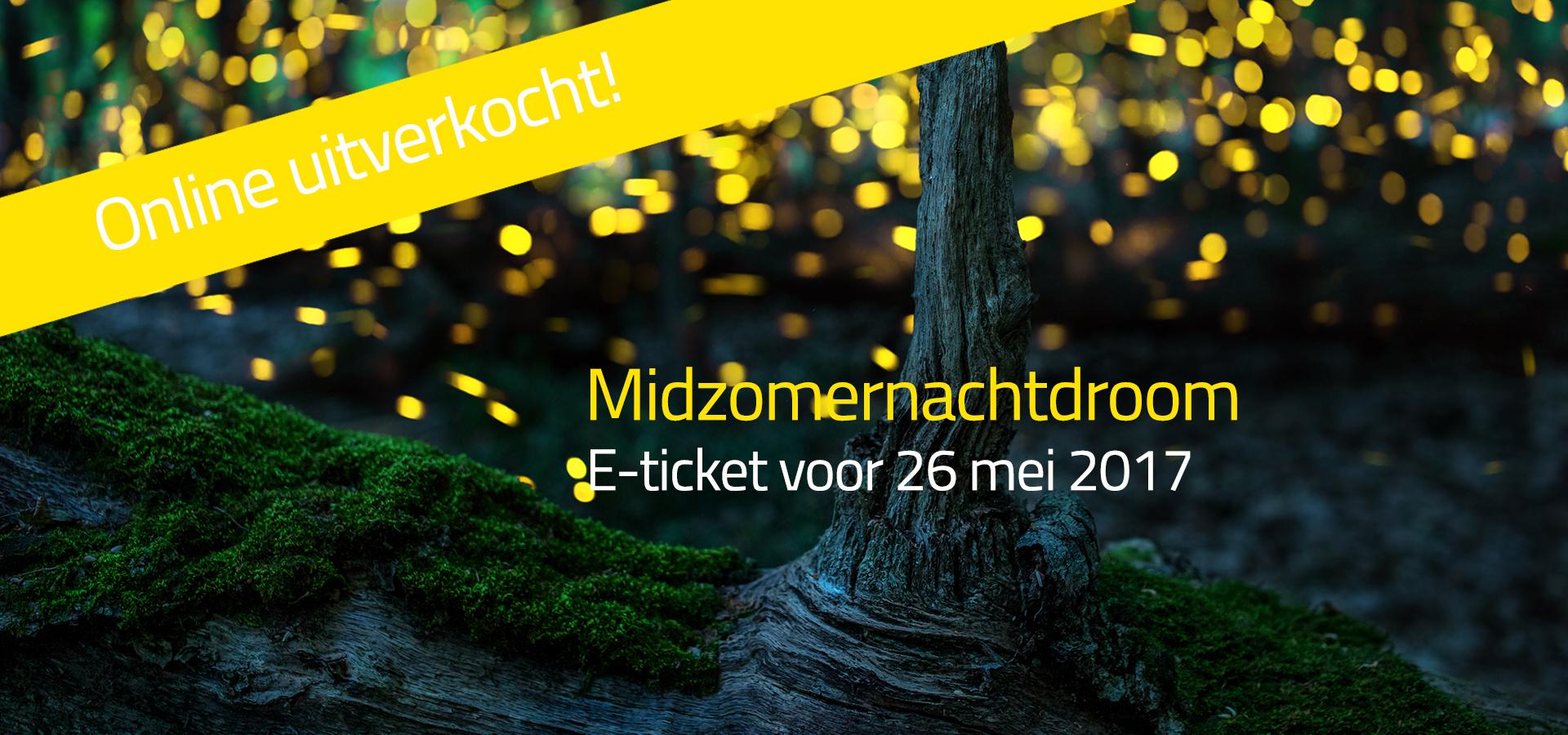 E-ticket Voorstelling 26 Mei